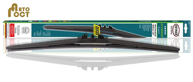 Бескаркасная щетка HEYNER Hybrid 23'' / 580 мм