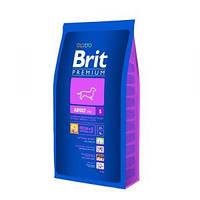 Brit Premium Adult Small Брит сухой корм для взрослых собак мелких пород 3кг