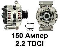 Генератор для Ford Transit 2.2 TDCi (06-12). 150 Ампер. Новый на Форд Транзит. A0200 - AS Poland.