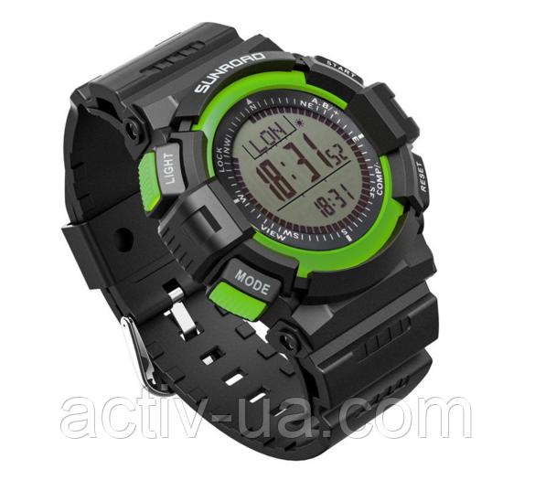 Годинник спортивні FR822A для туризму (компас, альтиметр, барометр, крокомір..). Водозахист 3АТМ