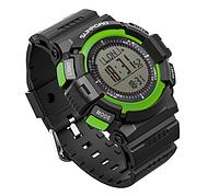 Часы спортивные FR822A для туризма (компас, альтиметр, барометр, шагомер..). Водозащита 3АТМ