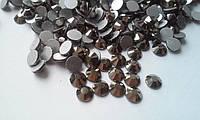 Стразы Hematite (гематит) SS16 холодной фиксации. Цена за 144 шт
