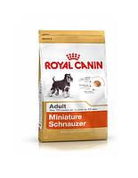 сухий корм для собак  ROYAL CANIN Miniature schnauzer adult 7.5 кг