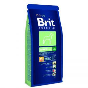 Brit premium junior XL корм для щенков и молодых собак гигантских пород от 4 до 30 месяцев 3кг