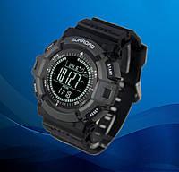 Часы спортивные FR821B для туризма (компас, альтиметр, барометр, шагомер..). Водозащита 3АТМ