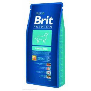 Brit Premium Lamb&Rice корм для дорослих собак Всіх порід гіпоалергенний Ягня і рис 8кг
