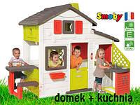 Игровой домик для детей с кухней Smoby 810201