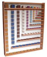 Большой деревянный стенд с  бусинками для умножения и возведения в степень