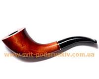 Курительная трубка Английский рожок оригинальной формы