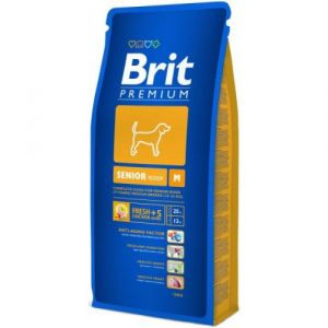 Brit Premium Senior S\ M Брит корм для стареющих собак средних пород 8кг