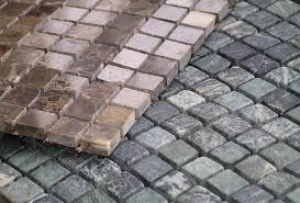 Демонтаж мозаичных полов до 50 мм