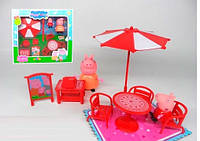 """Набор мебели """"Свинка Пеппа на отдыхе"""" 8866"""