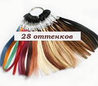 Палитра оттенков натуральных волос 28 оттенков