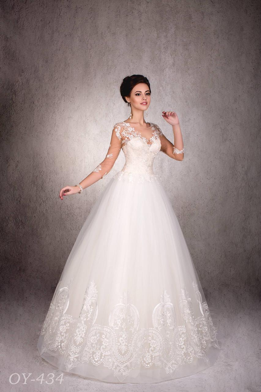 6fb6312c649 Купить Свадебное платье Киев 434 в Киеве от свадебного салона