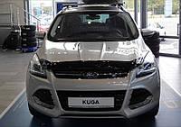 Дефлектор капота, мухобойка FORD KUGA 2013- Форд Куга