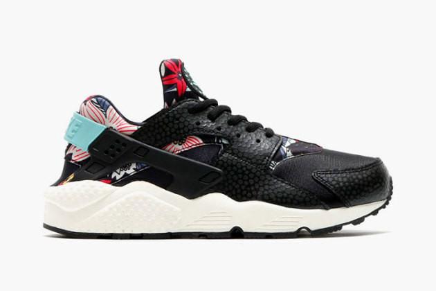Женские кроссовки Nike Huarache Aloha Pack Black
