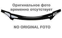 Дефлектор капота, мухобойка RENAULT Fluence 09-, седан, темный Рено Фланс