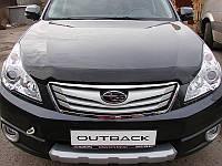 Дефлектор капота, мухобойка Subaru Outback/Legacy 2010- Субару Оутбек