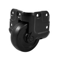 Ролик NC2W65/HK врезной , угловой , алюминиевый черный корпус, для N-Case 2 Case System., фото 1