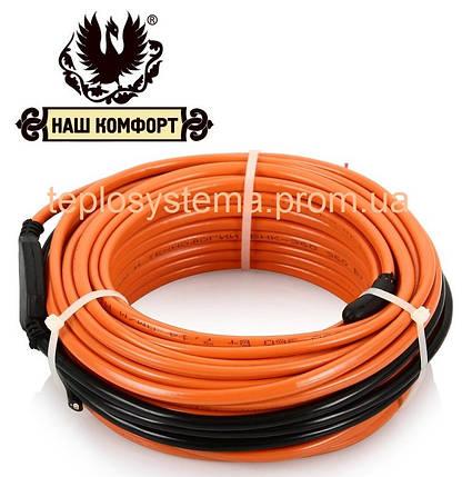 Теплый пол - Двухжильный нагревательный кабель «Наш Комфорт»  БНК – 1770 Вт (9,8 – 12,3 м2), фото 2