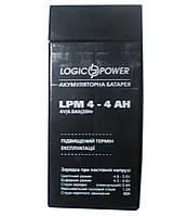 Аккумулятор свинцовый Logicpower 4V - 4 Ah LPM 440