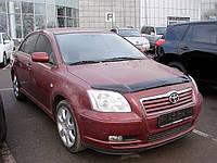 Дефлектор капота, мухобойка TOYOTA AVENSIS 2003-2008 Тойота Авенсис