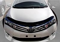 Дефлектор капота, мухобойка TOYOTA COROLLA 2013- Тойота Корола