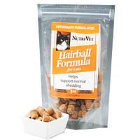 Nutri-Vet Hairball НУТРИ-ВЕТ ВЫВЕДЕНИЕ ШЕРСТИ витаминный комплекс для шерсти котов, таблетки