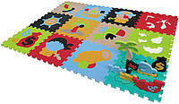 Детский игровой коврик пазл Приключение пиратов GB-M1501