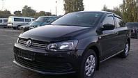 Дефлектор капота, мухобойка Volkswagen POLO хб/сд,09-10 Фольксваген Поло