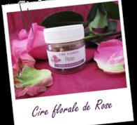 Цветочный воск Дамасской Розы 2,5 грамма