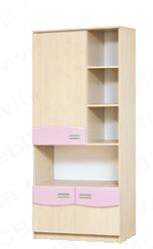 """Детская модульная система """"Терри"""" шкаф книжный"""
