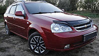 Дефлектор капота, мухобойка Chevrolet Lacetti с 2003 г.в.седан/универсал  Шевроле Лачетти