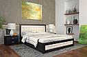 Ліжко двоспальне з натурального дерева в спальню Рената Д з Підйомником (Сосна, Бук) Арбор Древ