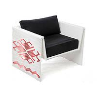 """Кресло """"Оригами"""" с декоративным принтом"""