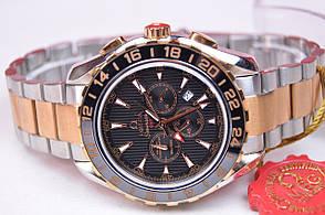 Мужские часы Omega Seamaster GMT stainless steel AAA