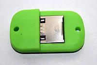Переходник OTG microUSB-USB мама, фото 1
