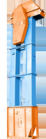 Нории (ковшевые вертикальные элеваторы)