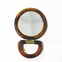 Зеркало двухстороннее пластик №4 (24шт/ящ)