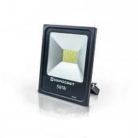 Светодиодный прожектор EVRO LIGHT EV-50-01, 50W, 220V, IP65, Standart, 3500Lm, 6400K белый холодный
