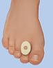 Повстяні кільця на клейовий основі при мозолях, товщина 2 мм, маленьке, овальне 135 шт. на аркуші