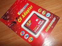 Конвертер переходник CF - SDXC SDCFII Extreme MMC, SDHC, SD to CF Type II Adapter Canon EOS 7D, 5D, 1D