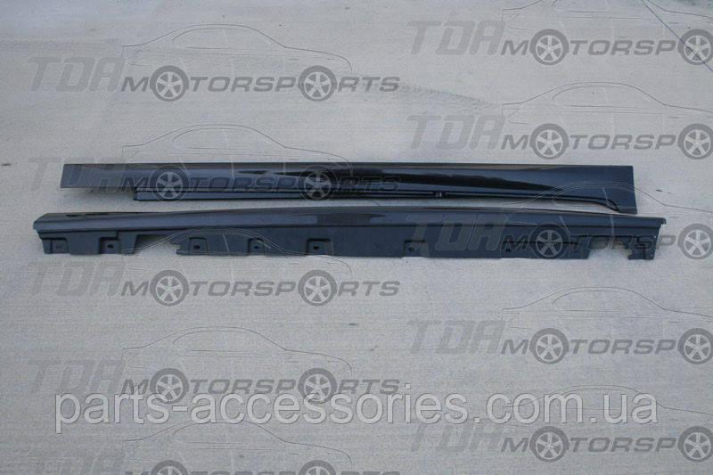 BMW 5 F10 M5 2009-16 накладки на пороги Carbon SEIBON США новые