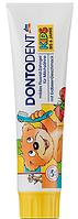 Зубная паста Dontodent Kids (до 6 лет) для молочных зубов со вкусом клубники 100 ml (12 шт/уп)