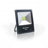 Светодиодный прожектор EVRO LIGHT EV-50-01, 50W, 220V, IP65, Premium, 4000Lm, 6400K белый холодный, фото 1
