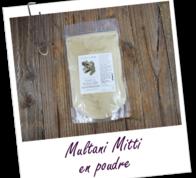 Индийская глина Мултани Митти 25 грамм