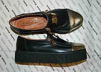 Модные слипоны туфли от украинского производителя эксклюзивная модель 37,38,39,40 размеры