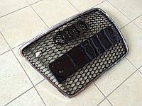 Решетка радиатора на Audi A6 C6 (Hrom) 2008-2012, фото 1