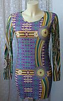 Платье женское туника модная яркая стильная мини бренд Graffic р. 42-44 6230