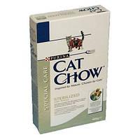 Cat Chow (Кэт Чау) Sterilized Корм для стерилизованных/кастрированных кошек и котов 400 гр